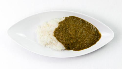 小松菜のキーマカレー (GAFU DINER)